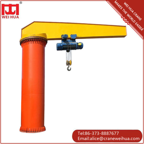 Floor Mounted Rotate (360 degree) Jib Crane pictures & photos