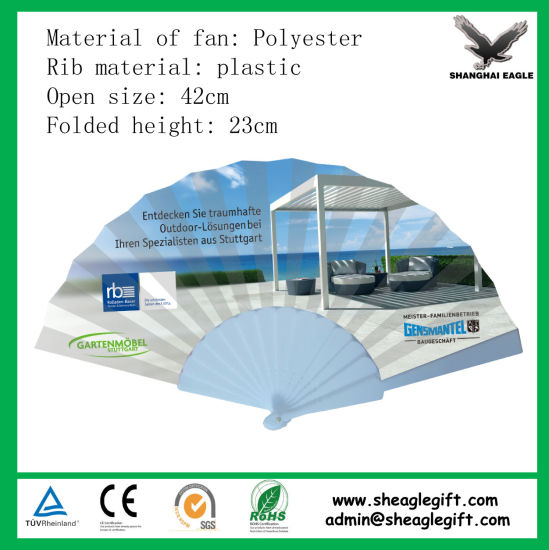 High Quality Korea Hand Fan Stand Customzied