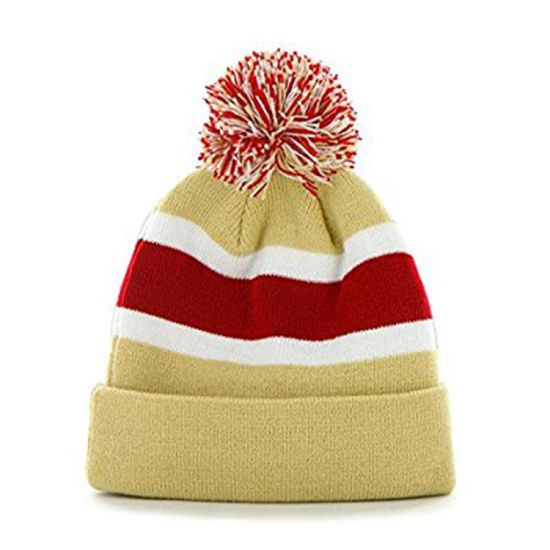 a92d2ceb94a74 China Wholesale OEM 100% Acrylic Cheap Knitted Embroidery Beanie Hat ...