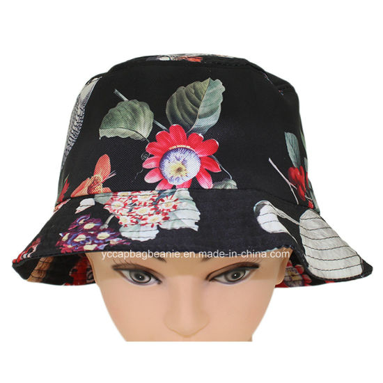 China Custom Plain Cotton Cheap Bucket Hat - China Fashion Bucket ... 314a69d87186