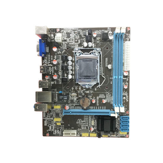 Wholesale Promotional H61 Chipset LGA 1155 Support DDR3 ATX Motherboard pictures & photos