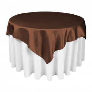 Satin Table Overlay pictures & photos