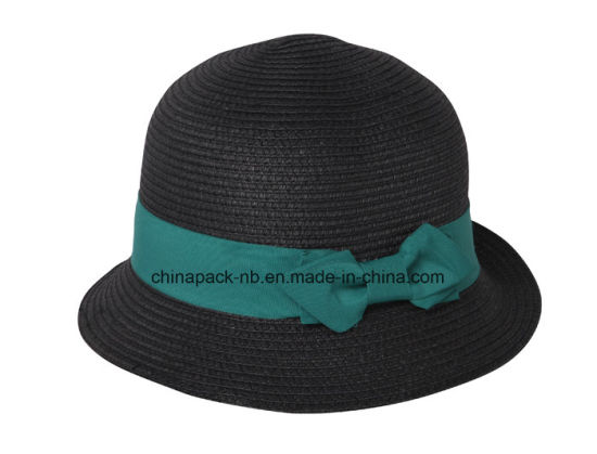 3b12c4ef313 China Summer Woman′s Sun Hat Fashion Straw Hat Sea Beach Bucket Hat ...