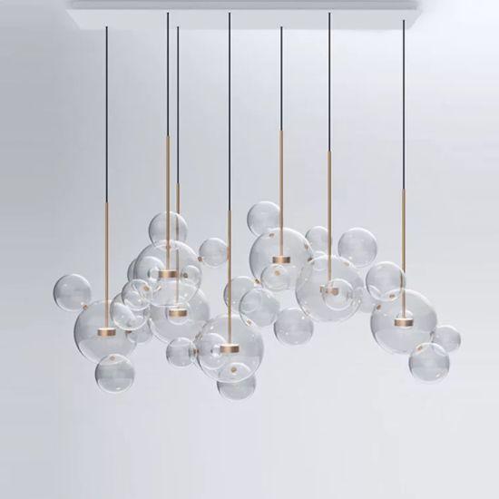 China creative modern chandelier decoration bubble pendant lamp gd creative modern chandelier decoration bubble pendant lamp gd 714j 4 aloadofball Images