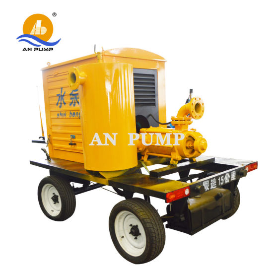 High Pressure Irrigation Portable Multistage Diesel Engine Motor Water Pump