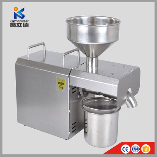 China Automatic Expeller Small Extractor Home Use Mini Oil
