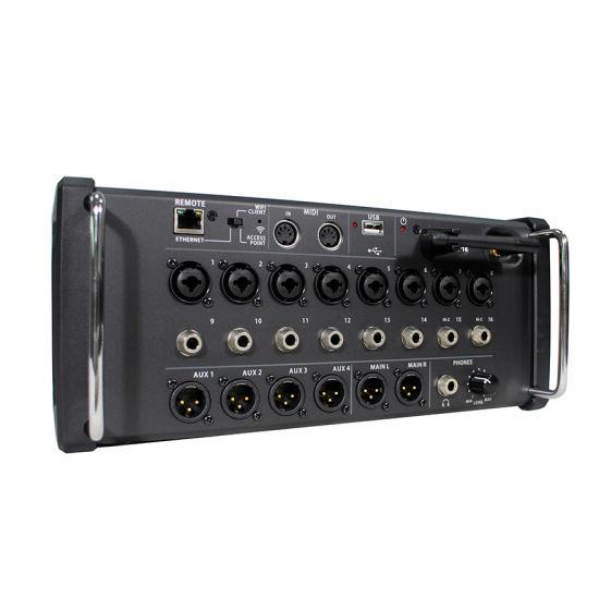 PRO Audio Sp-16 Digital Mixer Supports iPad / Android Tablet Control of 16 Digital Mixer
