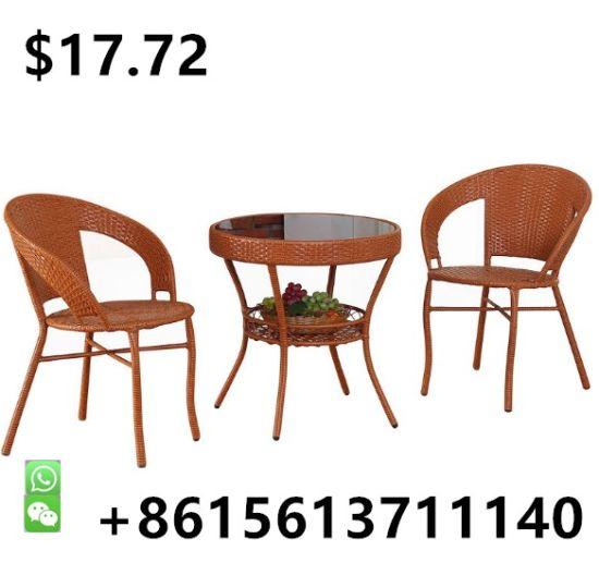 Outdoor Furniture Garden Chair Bistro Table Swing Rattan Furniture Set