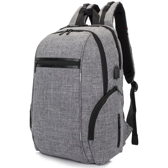 Nylon Diaper Baby Bags Stroller Backpack with USB Connection