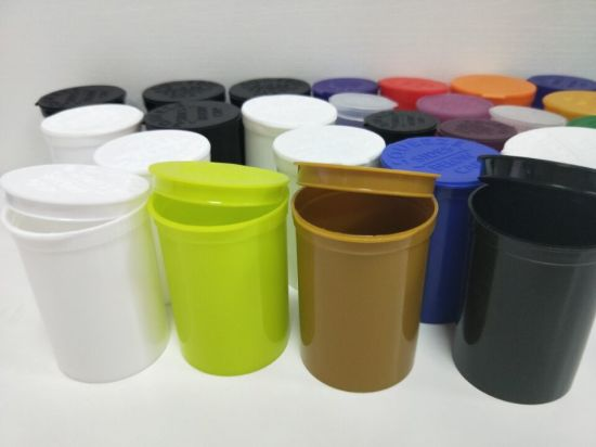 High Quality Plastic Pop Top Bottles and Vials