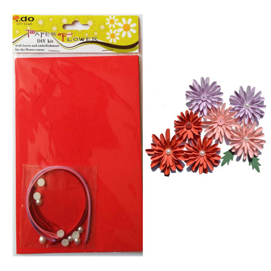 Paper Flower DIY Handmade Material Kit of Dahlia pictures & photos