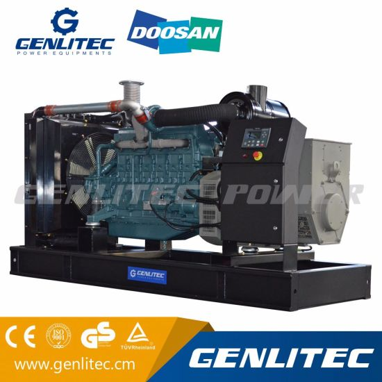 china 200kva diesel generator with korea doosan p086ti engine rh genlitec en made in china com