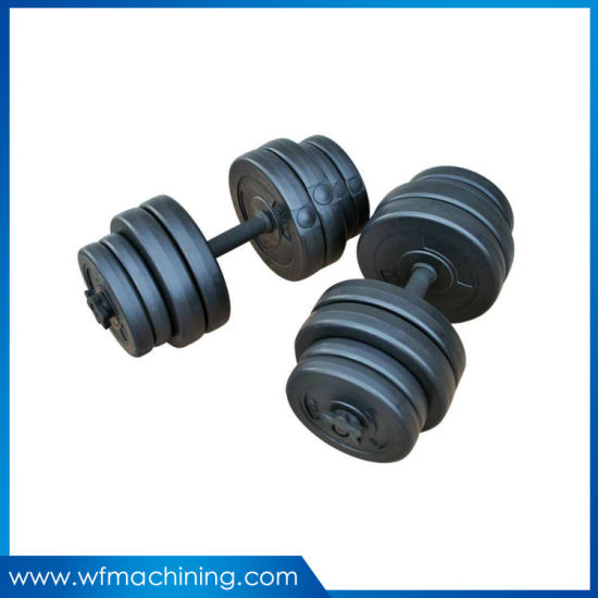 OEM Logo Gym Professional Body Building Training Fitness Equipment Round Shape Dumbbell pictures & photos