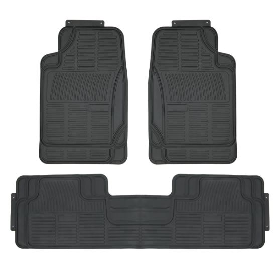 New Style Hot Sale 3PCS Full Sets Auto PVC Car Floor Mats
