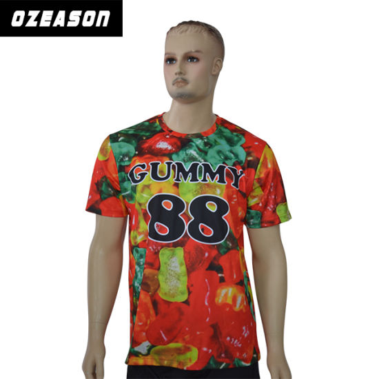 f86fed917b3c Custom Various Styles Kids Polyester Colorful Printed Cartoon T-Shirt  pictures & photos