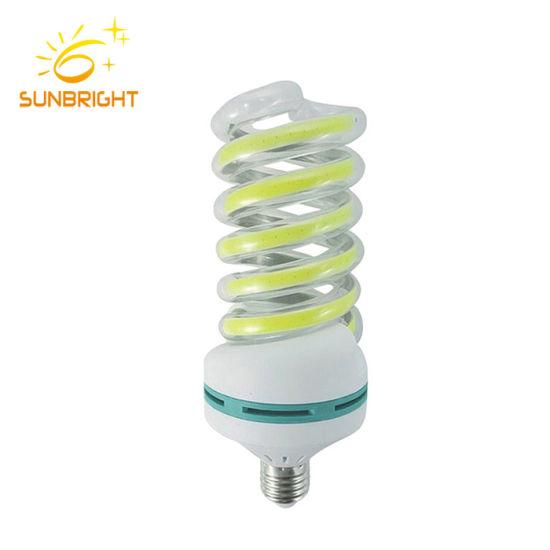 Yellow Warm Color spiral LED Energy Saving Lamp
