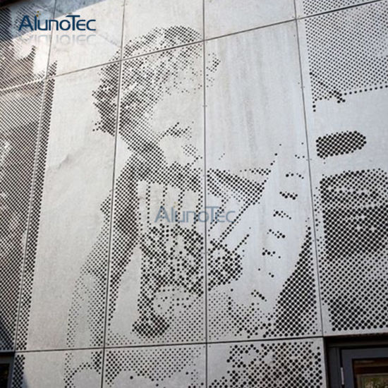 China Aluminium Wall Cladding Decorative Screen Panels