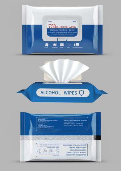 Customized Disinfectant Sanitizer Hand Tissue Alcohol-Free Antibacterial Wet Wipes70ipa Wet Wipeswet Wipeswet Tissue