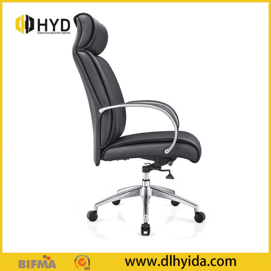 Sensational Office Meeting Chair Comfortable Black Pu Leather Swivel Commercial Chair With Wheels Gmtry Best Dining Table And Chair Ideas Images Gmtryco