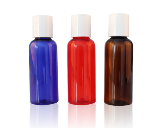 Round Shoulder Clear Cosmetic Plastic Pet Bottle pictures & photos