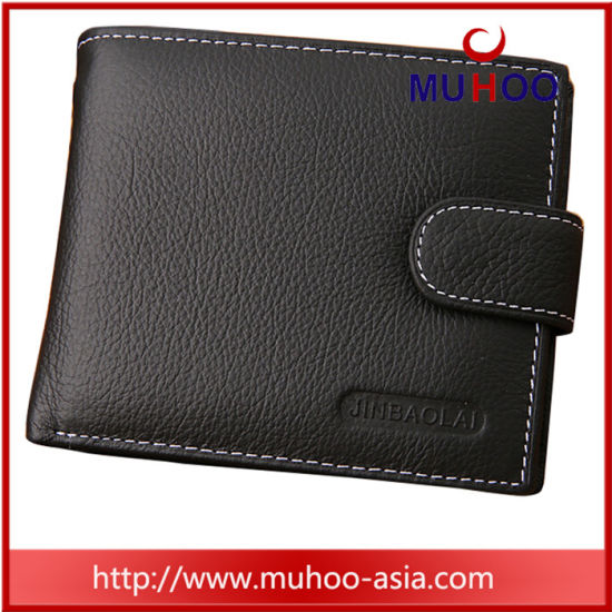 Fashion Leather Travel Card Coin Men Wallet (MH-2241) pictures & photos