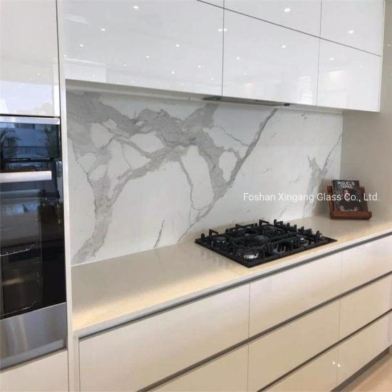 Tempered Kitchen Glass Splashbacks Back Painted Glass Decorative Glass Art Glass