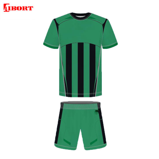 Aibort High Quality Manufacturer Teenager Soccer Uniform (L-SC-38)