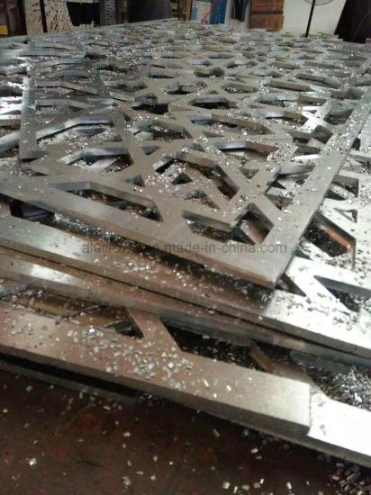 Powder Coating Engraved Aluminum Indoor & Outdoor Panel Facade Cladding