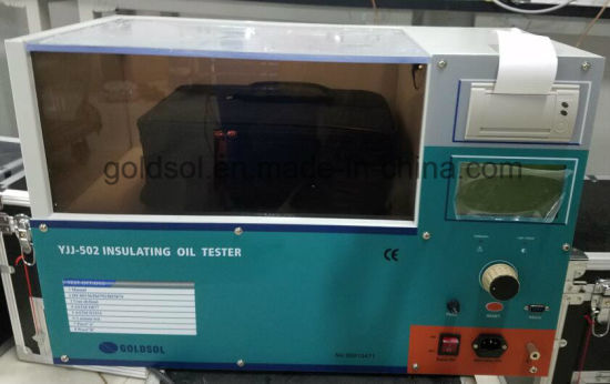 100kv Oil Tester pictures & photos