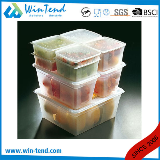 Hot Sale Certificate BPA Free Restaurant Kitchen Transparent Plastic 1/6 Size Dripping Tray pictures & photos