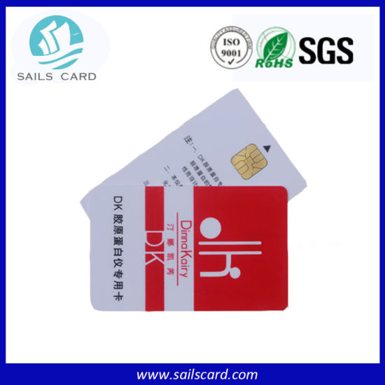 Hotel Door Smart Cards with Embossing Number pictures & photos