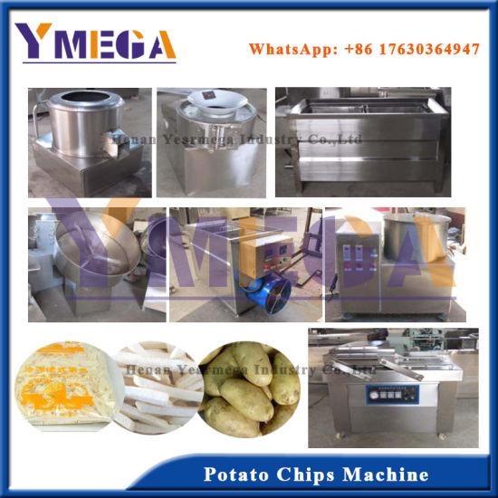 Certificated Food Grade Potato Slices Making Machine with Competitive Price pictures & photos