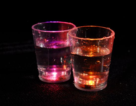 Romantic Full Color Changing LED Lighting Cup Night Club Light pictures & photos