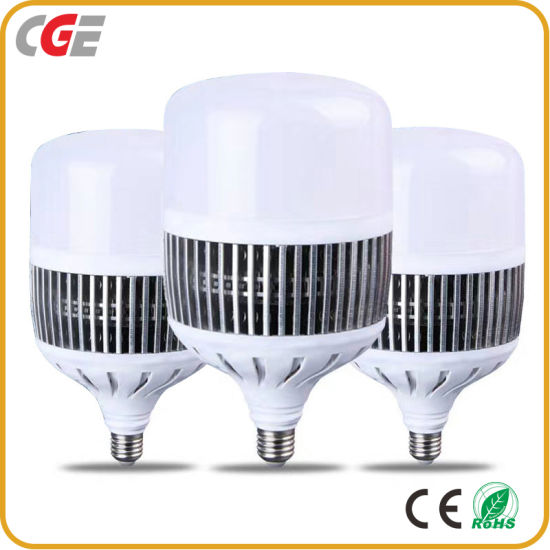 High Quality Aluminum and PC Material White Warm White Light E27 Fin Bulb Light High Power 50W LED Bulb Light