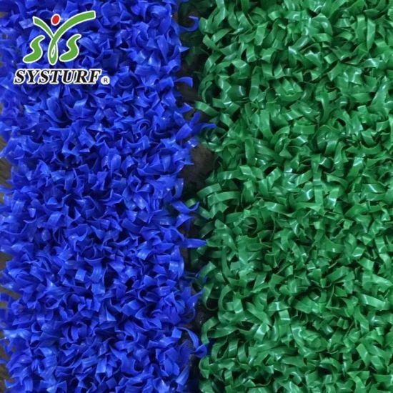 Blue Green Padel Tennis Grass Artificial Turf Grass