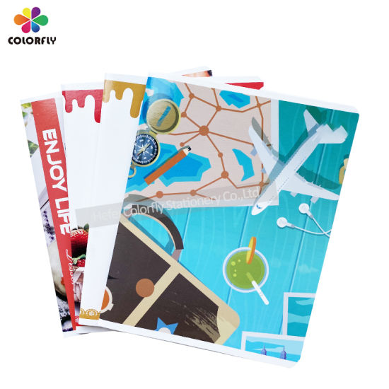 New Design Fashion Stationery Supplies Square Line Notebook