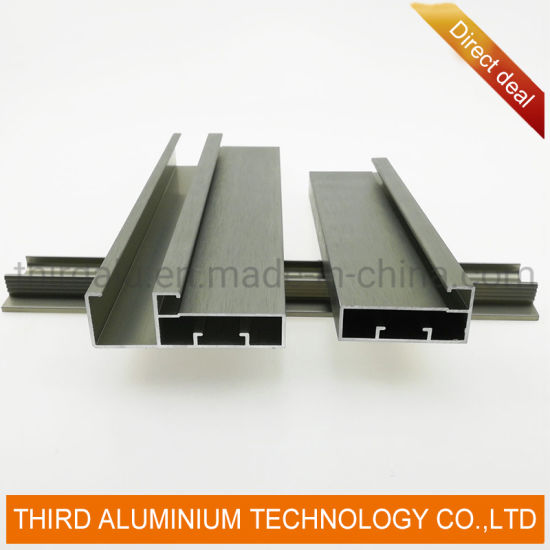 Aluminium Factory Custom Aluminum Kitchen Cabinet Door Profiles for India Market