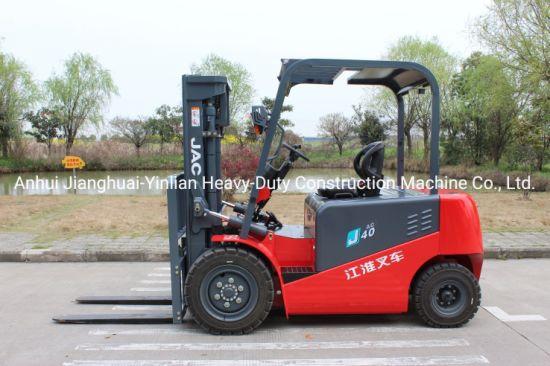 JAC 4 Ton Electric Forklift/Cpd40j/Forklift Trucks/Battery Forklift