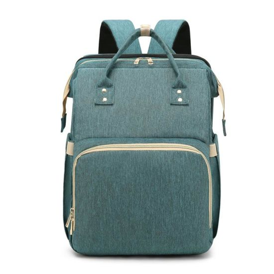 Multifunctional Baby Care Foldable Diaper Backpack Baby Mommy Bag