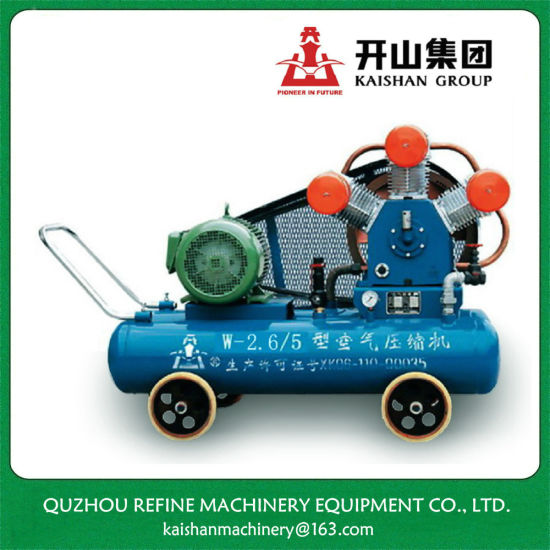 Kaishan 15kw 5bar Electric Motor 3 Cylinder Air Compressor for Quarry W-2.6/5D pictures & photos