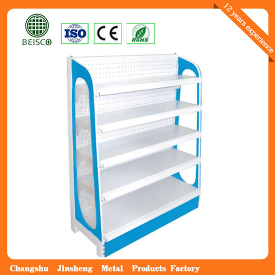 China Popular Supermarket Welcome Checkout Shelf (JS-SSN32