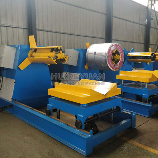 Hydraulic Automatic Steel Sheet Decoiler pictures & photos