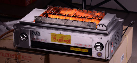 Hot Sale Commercial Smokeless Korean BBQ Grill pictures & photos