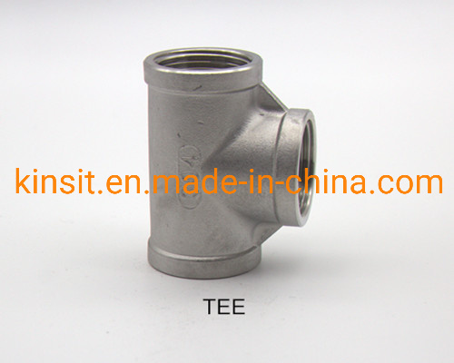 China Supplier Manufacture Stainless Steel 304 316 Tee Male Connector pictures & photos