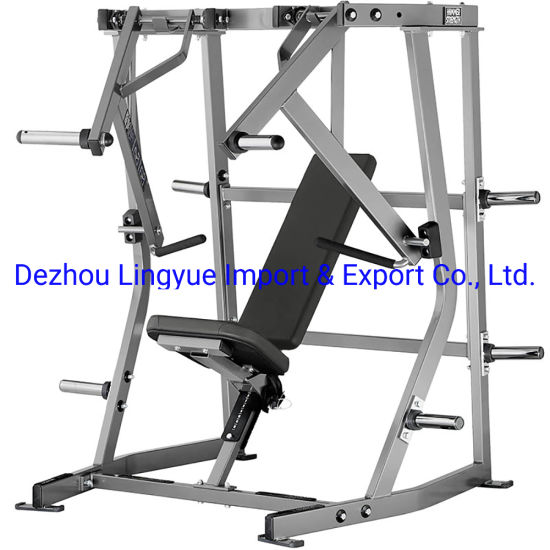 Commercial Life Fitness Gym Equipment Hammer Strength ISO-Lateral Decline Bench L-906 pictures & photos