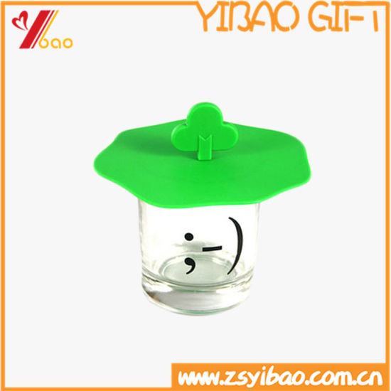 Cute Bow Tie Heat-Resistant High Quality Silicone Cup Lid and Coaster Customed (YB-HR-149) pictures & photos
