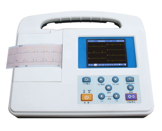 Best Price Medical Machine 3 Channel ECG Machine pictures & photos