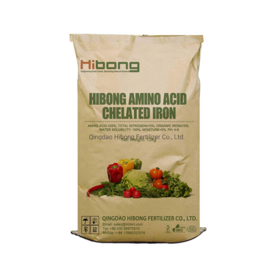 Amino Acid Chelated Iron Fertilizer, Micronutrient Fertilizer, Organic Fertilizer