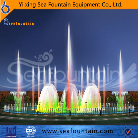 Outdoor Color Changing Music Pool Fountain pictures & photos