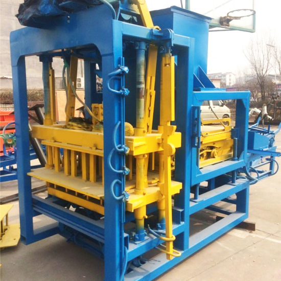 Qtj4-25 Concrete Block Making Machines Equipment for Small Business
